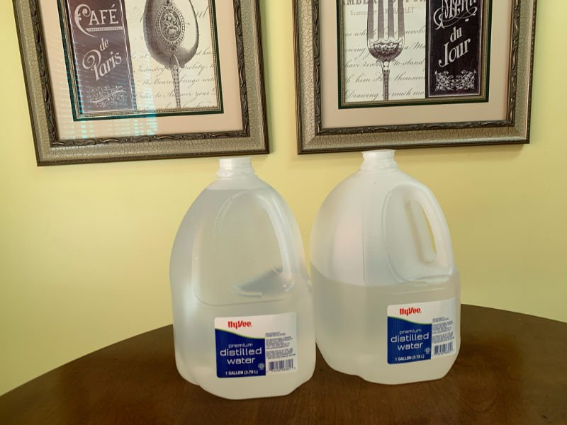 2 - gallon water jugs